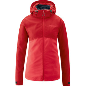 Maier Sports Gregale DJ Jacket Women, tango red